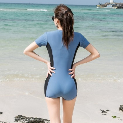 2IN1 Sport And Swimming Wear In Blue