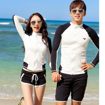 Major White Couple Swimsuit