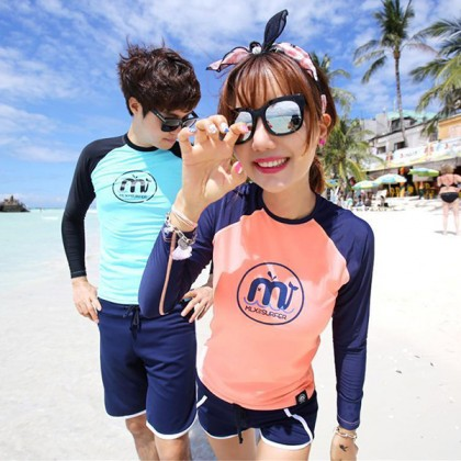 M Design Couple Rashguard