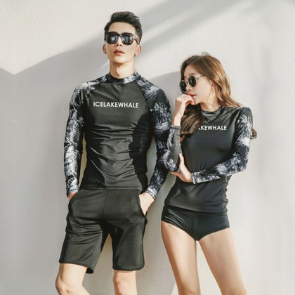 Eternity Couple Rashguard Swimsuit