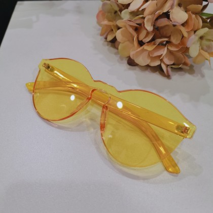 Korean Yellow Summer Sunglasses