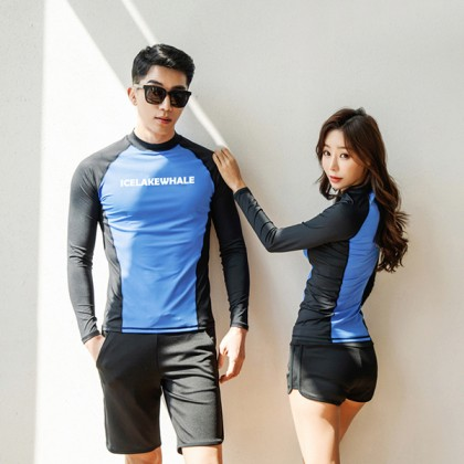 Sky Always Couple Swimsuit In Blue